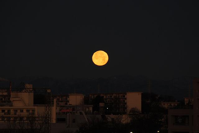 でっかい月!