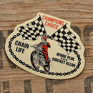 アメリカンステッカー CHAIN LIFE CHAMPIONS CHOICE